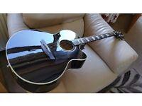 Takamine EG523SC-B electro acoustic guitar