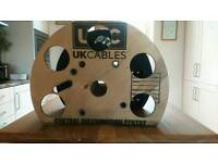 Bespoke cable drum wine rack
