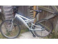 "Full/dual suspension 16"" Mountain Bike"