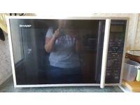 Sharp R959SLMAA 40 Litre Combination Microwave Oven - Silver