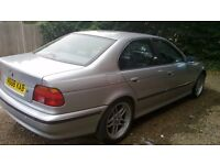 BMW 523i PETROL / Big Comfortable Car - bulletproof engine - cheap price for quick sale - need space