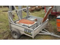 Quad bike trailer plant trailer