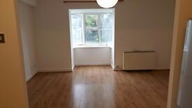 MODERN CLEAN 1 BEDROOM FLAT. Recently updated, spacious, power shower and bath, allocated parking