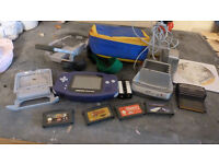 Gameboy Advance with 4 games and extras
