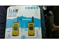 Motorola TLKR walkie-talkies