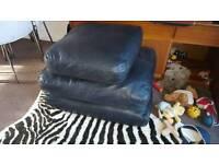 Faux leather sofa cushions