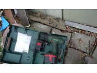 Bosch 24v cordless drill, come with spare battery boxed charger missing not tested no