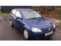 VAUXHALL CORSA LIFE TWINPORT 55 PLATE(2005)1.2-LOW MILEAGE