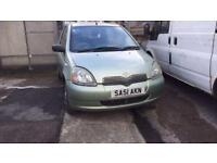 2001 1.0 Toyota Yaris BREAKING for spares/parts