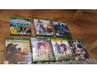 Xbox One , Kinect and 7 DVDs
