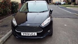 Black ford fiesta 13 plate