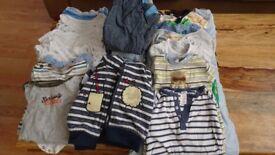 Baby Boy 3-6 mo's clothes bundle (over 40 items)