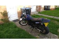 Sell or swap for car plus cash Yamaha tw125