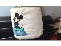 Disney Cot Bumper Brand new