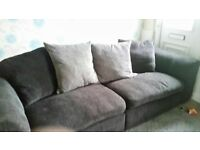 charcoal/grey sofa for sale