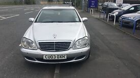 Mercedes S350 automatic fully loaded