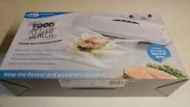 JML Food Vacuum Heat Sealer Machine With Vacuum Seal System to Keep Food Fresh BRAND NEW