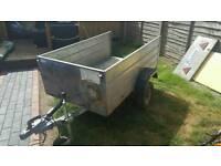 Lightweight 5 x 3ft klinn box trailer
