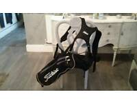 Titelist quiver / half bag excellent condition