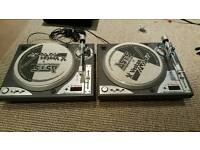 Pair of Vestax PDX-d3S Turntables