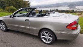 Mercedes clk 200 convertible automatic Avantgarde lovely low mileage car leather