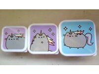 Pusheen Unicorn Storage Pots (NEW)