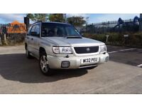 Subaru Forester Turbo S Manual AWD 4x4 4WD Estate reliable and perfect for winter. Like WRX, Impreza