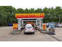 Hand Car Wash Business For Sale - Excellent Location - Inside Shell Garage - High End Customer Base