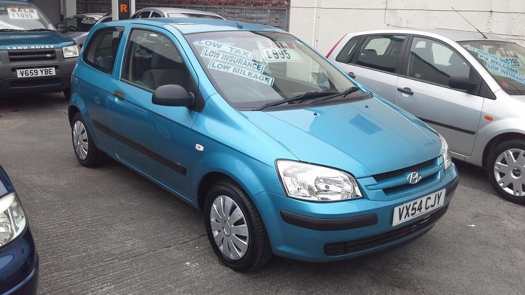 hyundai getz 1 1cc 2004 54 plate full mot metallic blue economical 995 may px in hull east. Black Bedroom Furniture Sets. Home Design Ideas