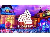 Two Budafest Tickets for sale 26th-28th August