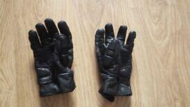 Winter Biker leather gloves - L size - used