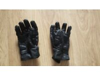 Winter Biker leather gloves - L size - used