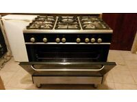 kenwood range 90cm freestanding gas cooker