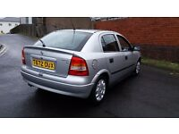 Vauxhall astra 1.6 club in mint condition long mot