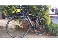 Boardman Pro Carbon Road Bike 52cm -almost spotless with extras