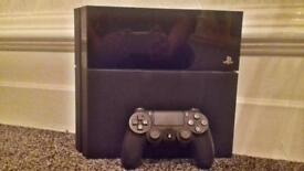 SONY PLAYSTATION 4 500GB CONSOLE WORKING SPARES OR REPAIRS