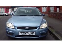 """FORD FOCUS 1.8 STYLE 5 DOOR BLUE 2007 """"immaculate condition""""""""2 keys""""""""long mot"""""""