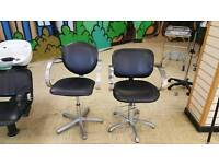 Barber chairs (2)