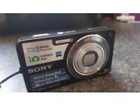 Sony DSCW350 Cyber-shot Digital Camera - Black (14.1 MP, 4x Optical Zoom) 2.7 inch LCD