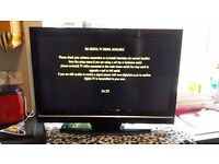 32 inch technika tv built in freeview