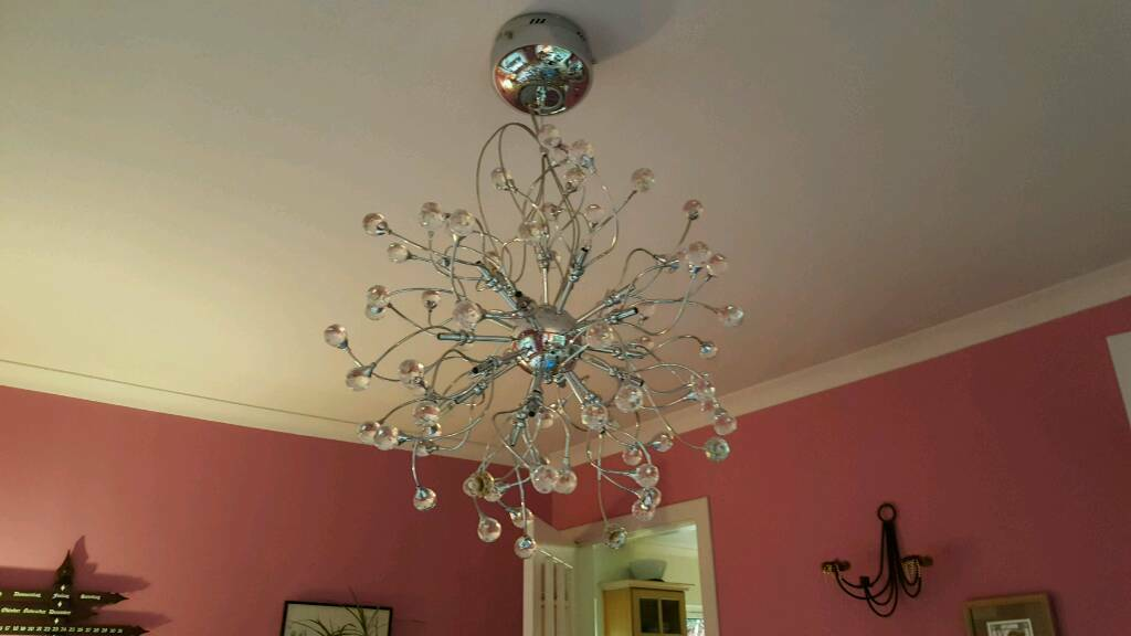 John lewis nebula chandelier in east end glasgow gumtree john lewis nebula chandelier aloadofball Image collections