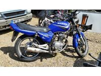 sanya 125cc motorcycle for sale spares or repair