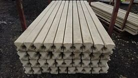 Reinforced Concrete Posts 8FT £8 ---7FT £7---6FT £6--- Each Corners And Ends Also