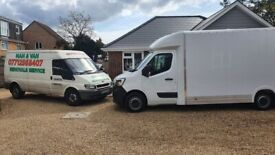 cheap man and van removals service