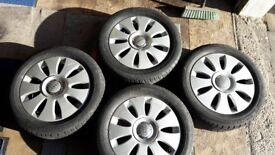 Audi Winter Wheels A3 A4 Snow Alloys
