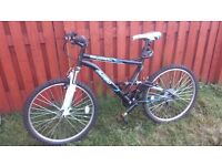 "24""Mountain Bicycle, virtually new,"