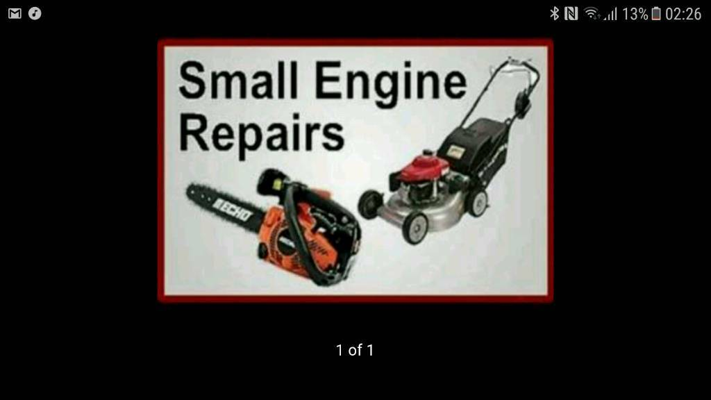 Small engine repairs and services keen prices !