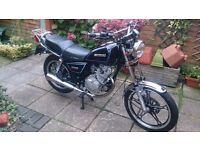 suzuki gn125 2006 superb little bike ideal first geared bike 12 months mot