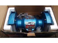 """Clarke 6"""" bench grinder - new"""