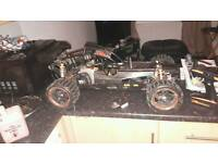 Yama rc buggy carbon version